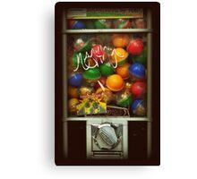 Gumball Machine Series - with Graffiti Burst - Iconic New York City Canvas Print