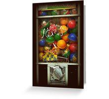 Gumball Machine Series - with Graffiti Burst - Iconic New York City Greeting Card