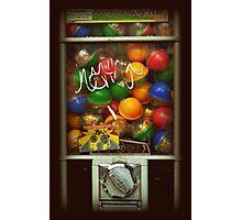 Gumball Machine Series - with Graffiti Burst - Iconic New York City Photographic Print