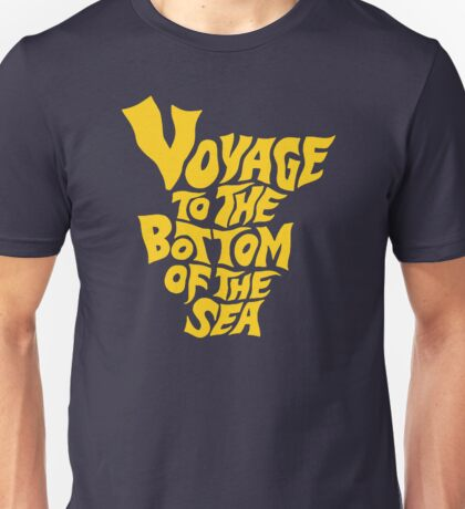 Voyage to the Bottom of the Sea Unisex T-Shirt