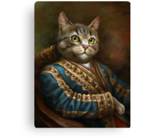 The Hermitage Court Outrunner Cat  Canvas Print