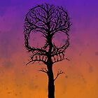 Skull Tree by LVBART