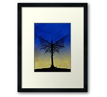 Bat Tree Framed Print