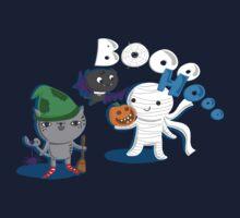 BOOO HOOO Halloween  Kids Tee