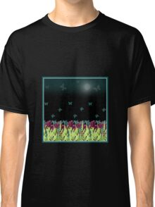 Red tulips in the night. Classic T-Shirt