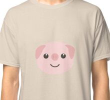 Cute kawaii Pig head Classic T-Shirt