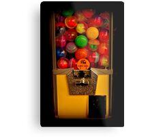Gumball Machine Yellow - Series - Iconic New York City Metal Print