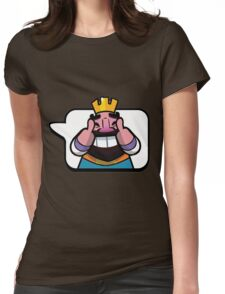 Funny Reaction - Clash royale Womens Fitted T-Shirt