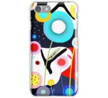 Abstract Colourful Night iPhone Case/Skin