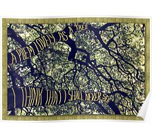 Branches of a Big Oak Tree A Poem Lovely as a Tree Poster