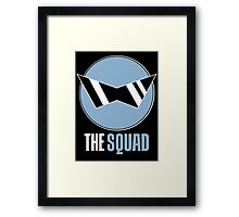Squirtle Squad Framed Print