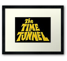The Time Tunnel Framed Print
