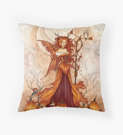 Pumpkin Queen Throw Pillow