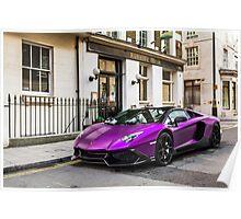 Lamborghini Aventador LP700-4 Roadster (50th Look) Poster