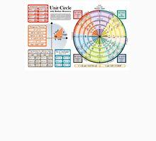 Unit Circle - Horizontal Version Unisex T-Shirt