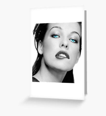 Mrs. Jovovich Greeting Card