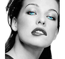Mrs. Jovovich Photographic Print