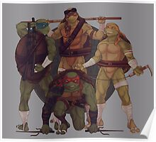 Turtle Gang By JBadgr Poster