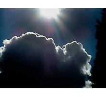 ray cloud Photographic Print