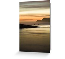 Finding Peace in the Secret Bay Greeting Card