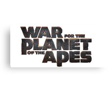 War for the planet of the apes Canvas Print