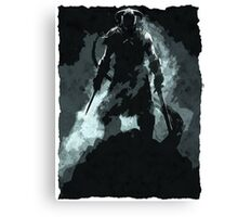 Slayer of Dragons Canvas Print
