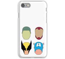 Super Heroes iPhone Case/Skin