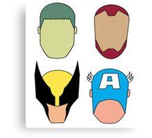 Super Heroes Canvas Print