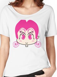 Pink Anime Girl Women's Relaxed Fit T-Shirt