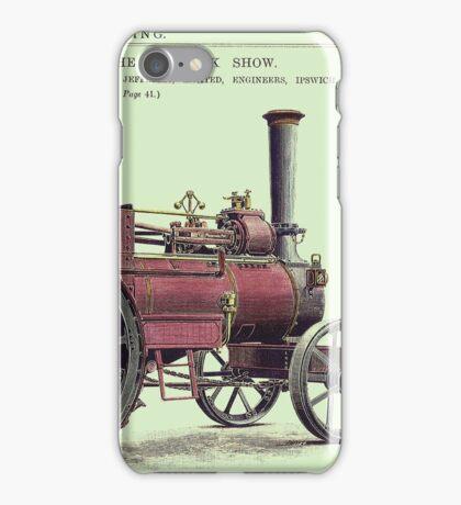 Ransome Steam Engine, 1892 iPhone Case/Skin