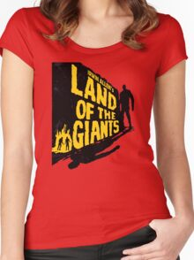 Land of the Giants Women's Fitted Scoop T-Shirt