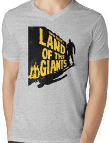 Land of the Giants Mens V-Neck T-Shirt