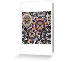 Vintage decorative elements. Hand drawn background. Islam, Arabic, Indian, ottoman motifs. Perfect for printing on fabric or paper. Greeting Card