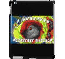 Hurricane Matthew iPad Case/Skin