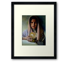 The Sibyl Framed Print