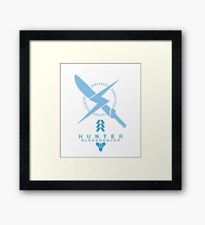 The Bladedancer Framed Print