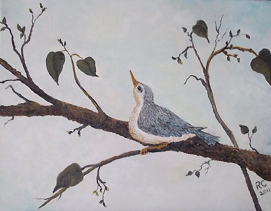 Bluebird of Happiness by rokinronda