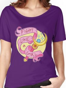 Sailor Moon - Fight like a girl! Women's Relaxed Fit T-Shirt