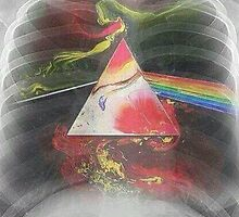 Pink Floyd - Dark Side of The moon Heart X-RAY by zahriradil