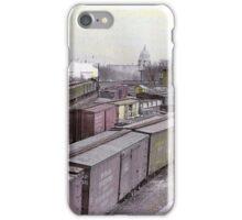 Washington Railroad Yard - Capitol Building In View, 1927 iPhone Case/Skin