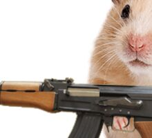 terrorist hamster Sticker