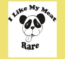 I Like My Meat Rare Kids Tee