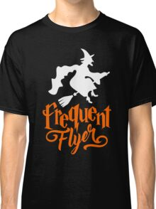 Frequent Flyer - Witch Halloween Classic T-Shirt