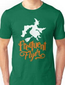 Frequent Flyer - Witch Halloween Unisex T-Shirt