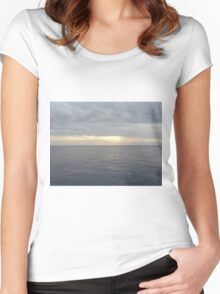 Aeolian Sea Women's Fitted Scoop T-Shirt