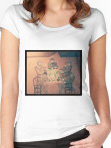 Gambler's Saloon Women's Fitted Scoop T-Shirt