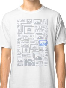 Photo a background Classic T-Shirt