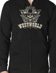I Survived Westworld Zipped Hoodie