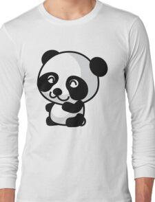 Anime Panda Long Sleeve T-Shirt