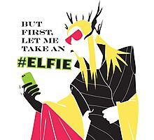 #Elfie Photographic Print